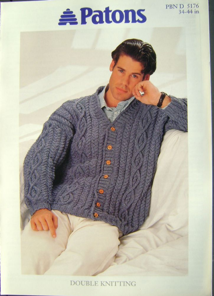 Patons Knitting Pattern 5176